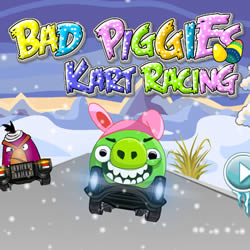Bad Piggies: Картинг