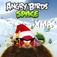 Angry Birds Space Xmas